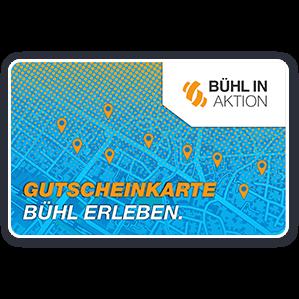 Logo Gutscheinkarte Bühl